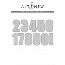 Altenew - Bold Numerals - Stanze