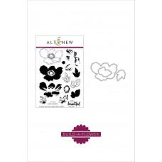 Altenew - Build A Flower: Anemone - Clear Stamps 6x8 & Stanzen