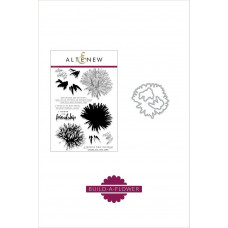 Altenew - Build A Flower: Aster - Clear Stamps 6x8 und Stanzen