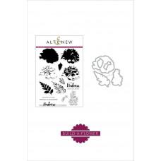 Altenew - Build A Flower: Carnation - Clear Stamps 6x8 und Stanzen