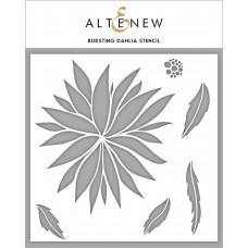 Altenew - Bursting Dahlia - Schablone