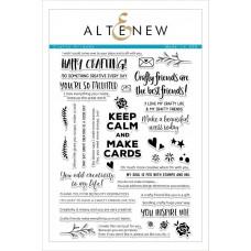 Altenew - Crafty Friends - Clear Stamps 6x8