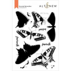 Altenew - Dovetail Butterflies - Clear Stamp Set 6x8