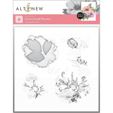 Altenew - Greenwood Flowers - Layering Schablone