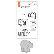 Altenew - Mini Delight Polar Bear Stempel & Stanze