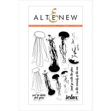 Altenew - Painted Jellyfish - Clear Stamps 4x6