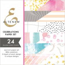Altenew - Paper Pack 24 Seiten 6x6 - Celebrations