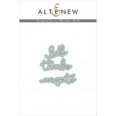 Altenew - Signature Words  - Stanzen