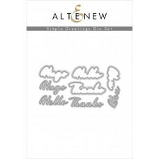 Altenew - Simple Greetings - Stand Alone Stanze