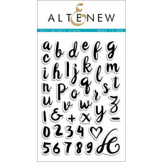 Altenew - Stempelset 4x6 - Calligraphy Alpha