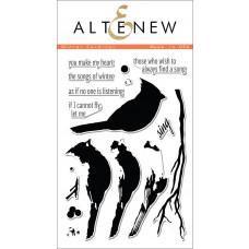 """Altenew - Stempelset 4x6"""" - Winter Cardinal"""