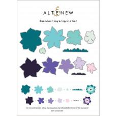 Altenew - Succulent Layering - Stand Alone Stanzen