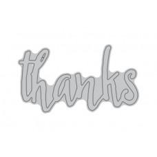 Altenew Die - Thanks