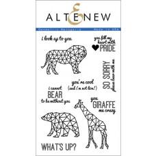 "Altenew - Stempelset 4x6"" - Geometric Menagerie"