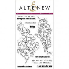 Altenew - Starry Flowers - Clear Stamp 4x6