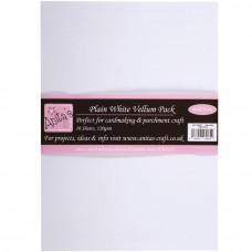 Anitas - Plain White Vellum Pack A4