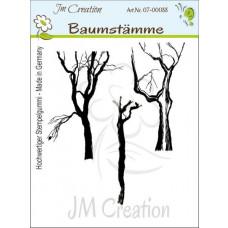 JM Creation - Baumstämme - Rubberstamp