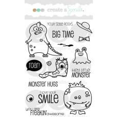 "Create a Smile - Stempelset 4x6"" - Big Time"