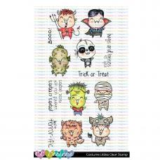 C.C. Designs - Costume Littles - Clear Stamp 4x6