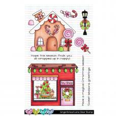 C.C. Designs - Gingerbread Lane - Clear Stamp