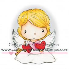 C.C. Designs - Angel Wings (Rubberstamp)