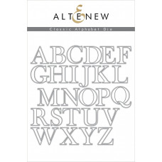 Altenew - Classic Alphabet - Stanze