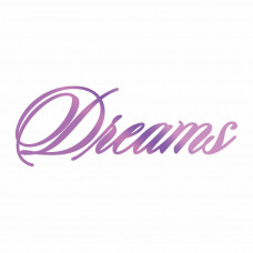 Couture Creations Hotfoil Stamp - Dreams 80 x 29mm