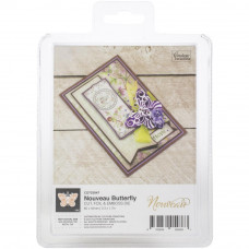 Couture Creations - Cut, Foil & Emboss Die - Nouveau Butterfly