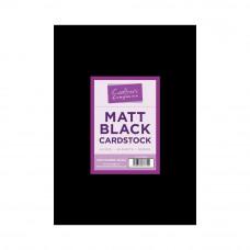 Crafters Companion Cardstock A4 Schwarz Matt