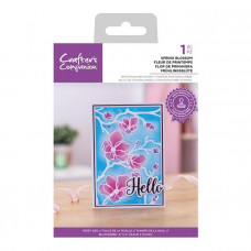 Crafter's Companion - Spring Blossom - 4x6 Clear Stamp Set