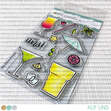Create A Smile - Auf uns - Clear Stamps 4x6