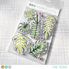 Create A Smile - Fine Ferns - Clear Stamps 4x6