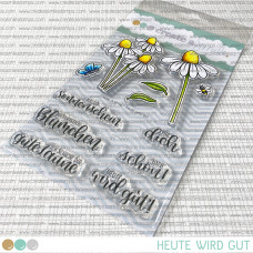 Create A Smile - Heute wird gut - Clear Stamps 4x6