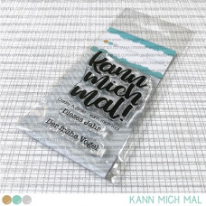 Create A Smile - kann mich mal - Clear Stamps 2x3