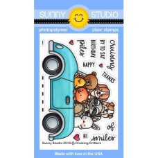 Sunny Studio - Cruising Critters - Clear Stamps 3x4