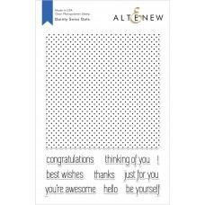 Altenew - Dainty Swiss Dots - Clear Stamp 6x8