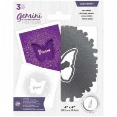 Gemini Foil Stamp 'N' Cut Die - Elements - Dream