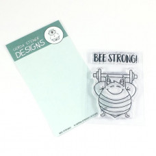 Gerda Steiner Designs - Bee Strong! - Clear Stamps 2x3