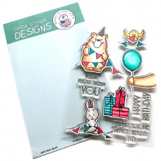 Gerda Steiner Designs - Birthday Bear - Clear Stamps