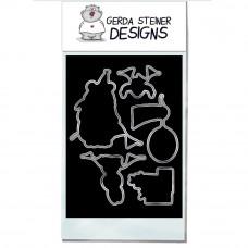 Gerda Steiner Designs - Birthday Bear - Stanzen