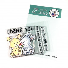 Gerda Steiner Designs - Bunny Friends - Clear Stamps 3x4