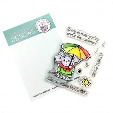 Gerda Steiner Designs - Under The Weather - Clear Stamps 3x4