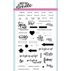 Heffy Doodle - Interactively Yours - Clear Stamps 4x6