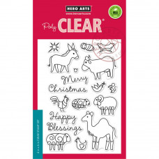 """Hero Arts Clear Stamps 4""""X6"""" - Animal Blessings"""