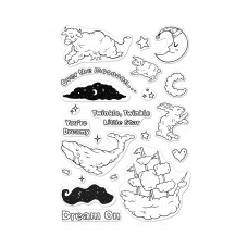 Hero Arts - Cloudy Animals - Clear Stamps