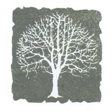 Holzstempel - Baum