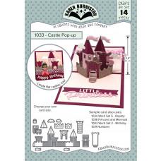 Karen Burniston - Castle Pop-Up Stanzen