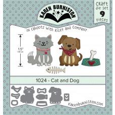 Karen Burniston - Cat and Dog Stanzen