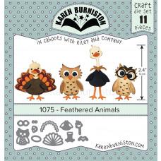 Karen Burniston - Feathered Animals Stanzen