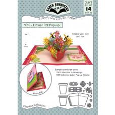 Karen Burniston - Flower Pot Pop-Up Stanzen